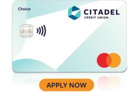 Citadel Credit Union Choice Mastercard®