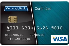 Comerica Bank Visa Platinum® Card