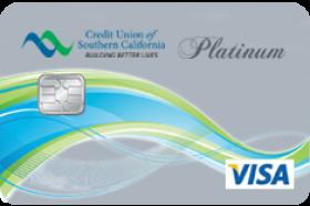 Credit Union of Southern California Platinum Rewards Visa