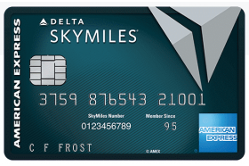 American Express National Bank Delta SkyMiles Reserve Business Credit Card