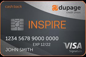 DuPage Credit Union Inspire Cash Back Signature