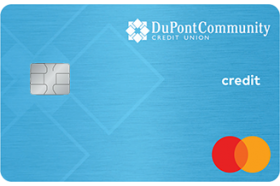 DuPont Community Credit Union MasterCard Share Secure Credit Card