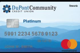 DuPont Community Credit Union Platinum Rewards Credit Card
