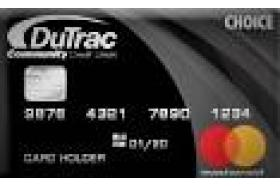 DuTrac Community Credit Union Choice Mastercard