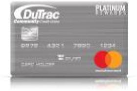DuTrac Community Credit Union Platinum Mastercard Rewards