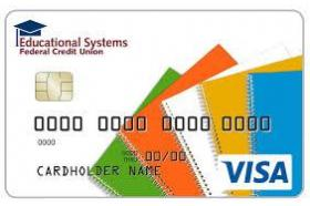 Educational Systems Federal Credit Union Credit Card Visa