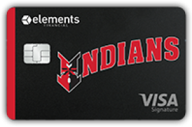 Elements Financial Federal Credit Union Indianapolis Indians Signature Rewards Visa Card