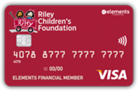 Elements Financial Federal Credit Union Riley Children Foundation Visa