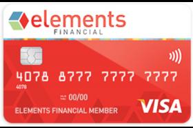 Elements Financial Federal Credit Union Secured Visa Card