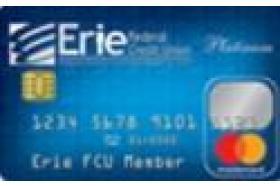 Erie Federal Credit Union Platinum Mastercard