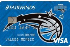 Fairwinds Credit Union Orlando Magic Visa