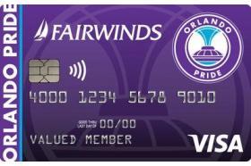 Fairwinds Credit Union Orlando Pride Visa Credit Card