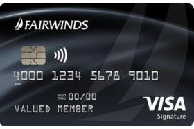 Fairwinds Credit Union Signature Visa