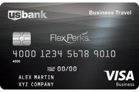 US Bank FlexPerks Business Travel Rewards