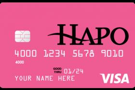 HAPO Community Credit Union Visa Low Rate Credit Card