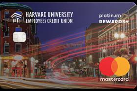 Harvard University Employees CU Platinum Rewards Plus Credit Card