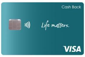 HawaiiUSA Federal Credit Union Life Matters Cash Back Visa Credit Card