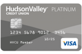 Hudson Valley Federal Credit Union Visa Platinum Rewards Credit Card
