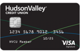 Hudson Valley Federal Credit Union Visa Signature Credit Card
