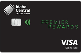 Idaho Central Credit Union Premier Rewards Visa Credit Card