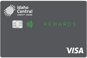Idaho Central Credit Union Rewards Visa Credit Card