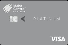 Idaho Central Credit Union Variable Rate Platinum Visa Credit Card