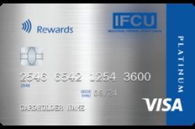 Industrial Federal Credit Union Platinum Rewards Visa Credit Card
