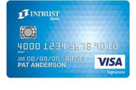 INTRUST Bank Visa Signature Max Cash Preferred Card