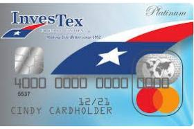InvesTex Credit Union MasterCard Platinum Credit Card