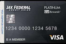 Jax FCU CURewards Visa Credit Card