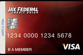 Jax FCU Secured Visa Credit Card