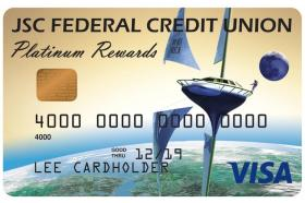 JSC Federal Credit Union Visa Platinum Rewards Credit Card