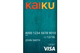 KAIKU Visa Prepaid Card