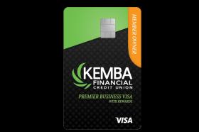 KEMBA Financial Credit Union Premier Business Visa