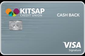 Kitsap Credit Union Visa Signature Cash Back