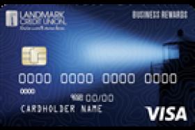 Landmark Credit Union Business Rewards Visa Card