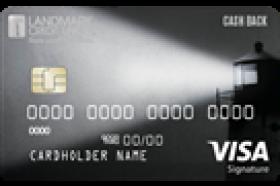 Landmark Credit Union Cash Back Visa