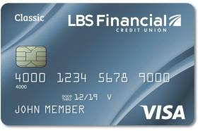 LBS Financial Credit Union Visa Classic