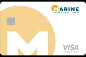 Marine Federal Credit Union VISA Signature Card