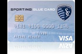Mazuma Credit Union Sporting Blue Card