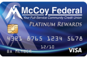 McCoy Federal Credit Union Visa Business Platinum