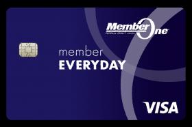 Member One Federal Credit Union Member Everyday Visa Credit Card