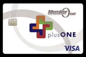 Member One Federal Credit Union plusONE Visa Cashback Credit Card