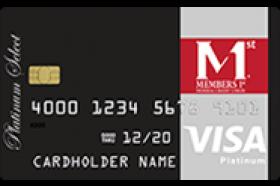 Members 1st Federal Credit Union VISA Platinum Low Rate