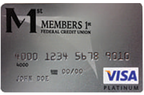 Members 1st Federal Credit Union VISA Platinum Secured