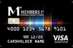 Members 1st Federal Credit Union VISA Signature Rewards