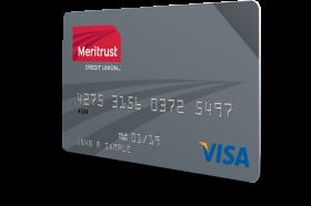Meritrust Credit Union Visa Share Secured