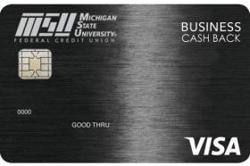 Michigan State University Federal Credit Union Business Cash Back Visa
