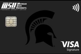 Michigan State University Federal Credit Union Visa Signature