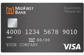MidFirst Bank Business Rewards Card